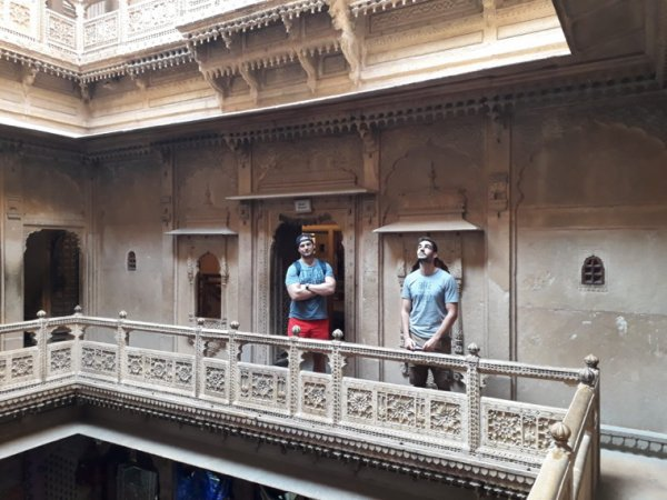C'est la fin. Moustache trip to india 2018