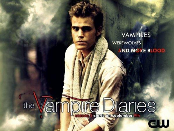 Elena & Stefan & Damon - Saison 2