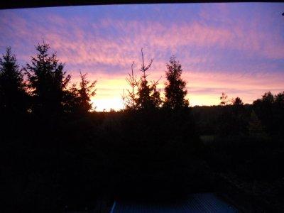 coucher de soleil a recquignies