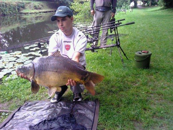 carpe de 9 kilo prise le 28-07-2012