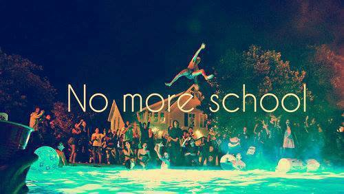 no school & real life <3