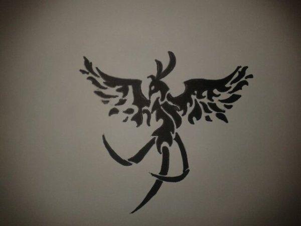Mon Dessin Phoenix Tribal Dessins Et Des Photos Sur