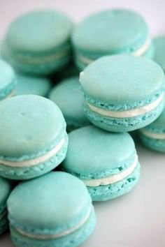 Bluberry Macarons °-°