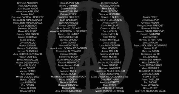Reposez en paix victimes du vendredi 13 Novembre 2015