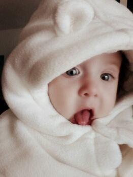 Ma Princesse Elena 5 mois Ti Amo Nonna