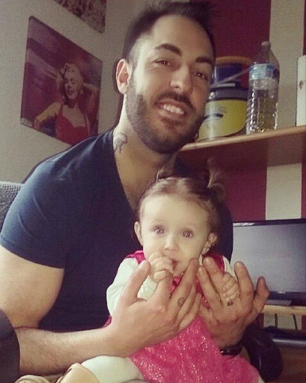 Mon fils Gino & ma petite fille Elena 13 Février 2016