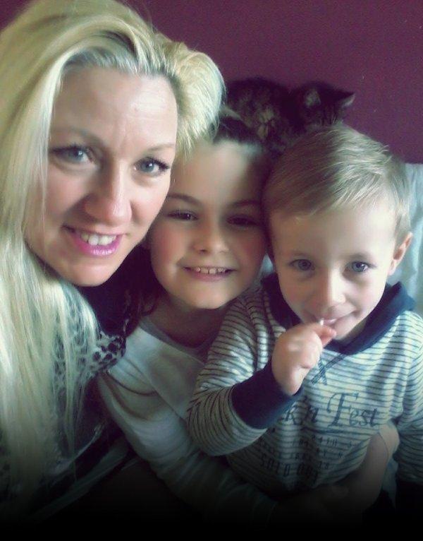 Visite de mes petits enfants 16 Février 2016