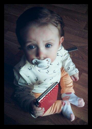 Ma princesse Elena 28/02/2016 bientôt 9 mois .