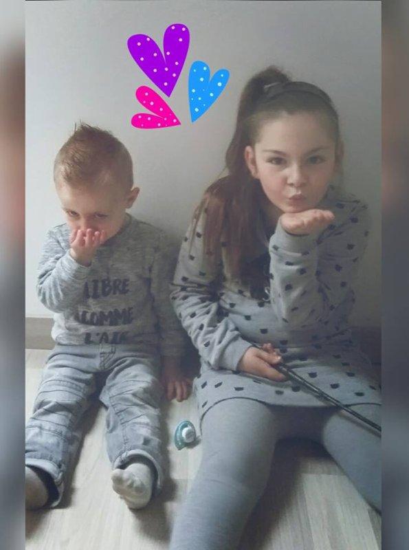Mes petits enfants Giuliana & Leandro