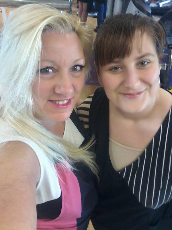 Avec ma collègue Mélanie ce matin 04 Mai 2016