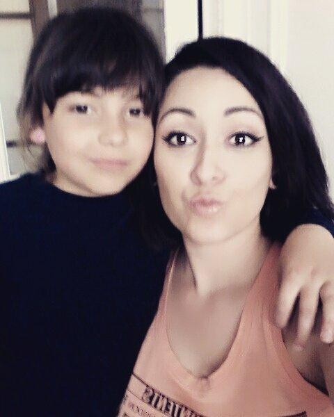 Ma fille Angelina et ma petite fille Leonora 18 Juin 2016