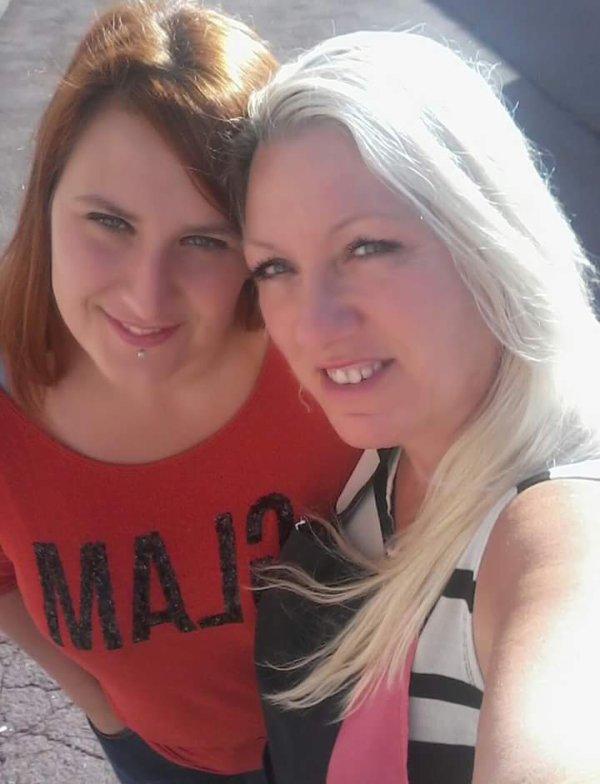 Avec ma collègue Mélanie 12 Août 2016