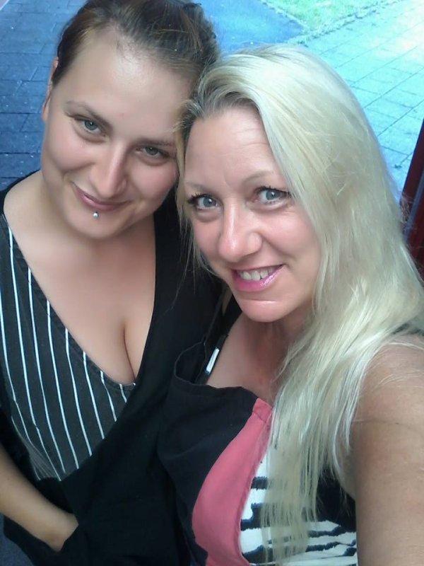 26 Août 2016 avec ma collègue Mélanie