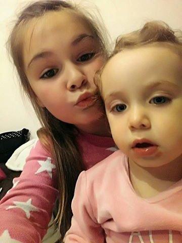 Mes deux amours Giuliana et Elena 05 Décembre 2016
