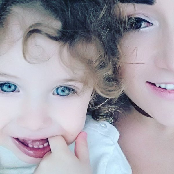 Ma fille Angelina et ma petite fille Elena 20 Mars 2017