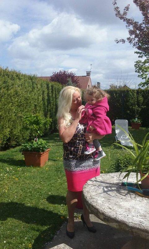23 avril 2017 avec ma petite fille Elena