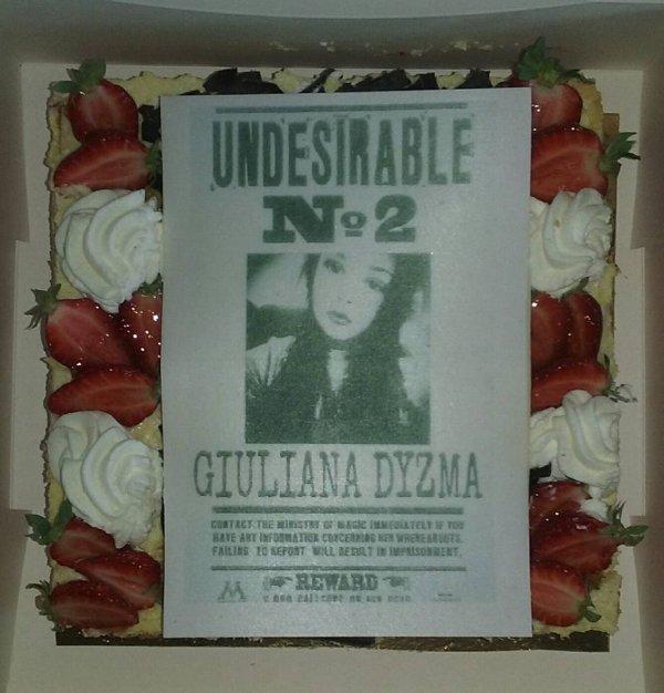 Gâteau d'anniversaire de ma princesse Giuliana 10 ans