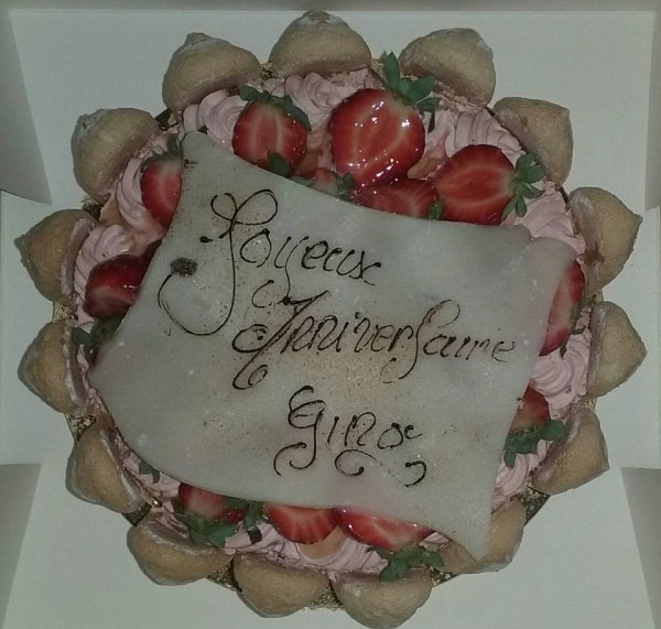 Gâteaux 29 ans de mes jumeaux Gino & Angelina