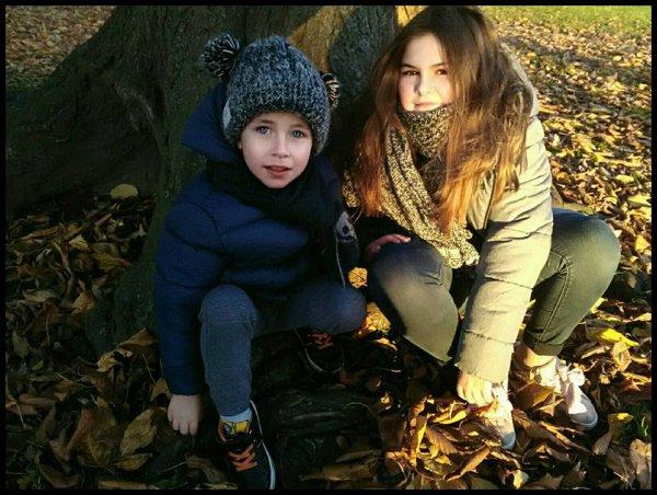 Mes petits enfants Giuliana et Leandro 22 Novembre 2017