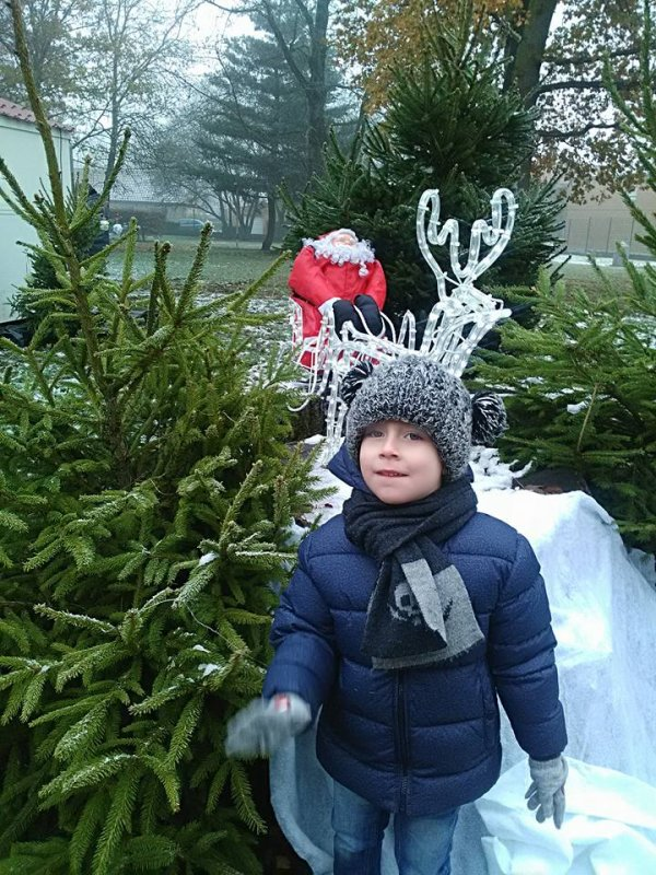 Mon petit ange Leandro au Marché de Noel 02.12.2017