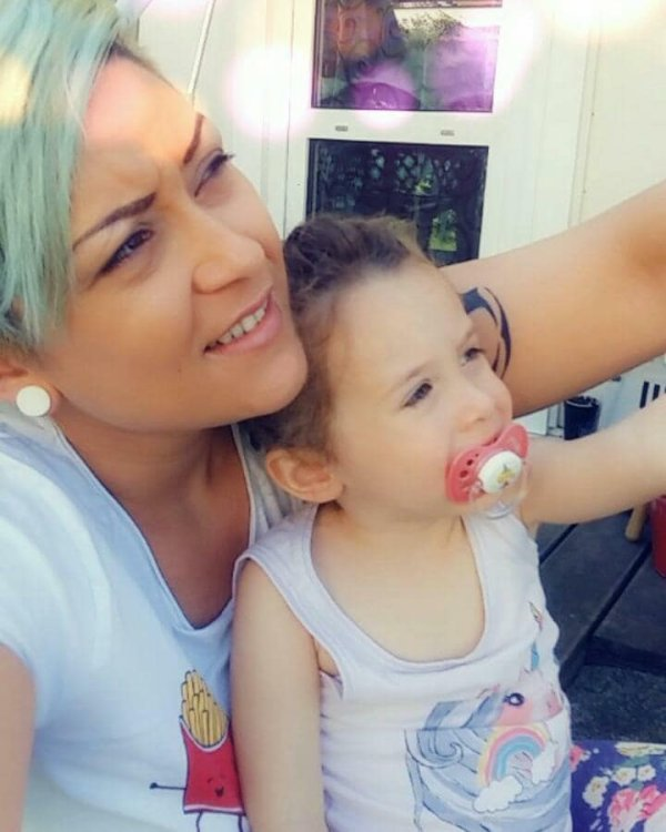Ma fille Angelina et ma Princesse Elena 08.05.2018