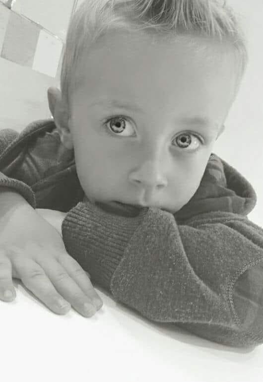 Mon petit fils Leandro Mai 2018
