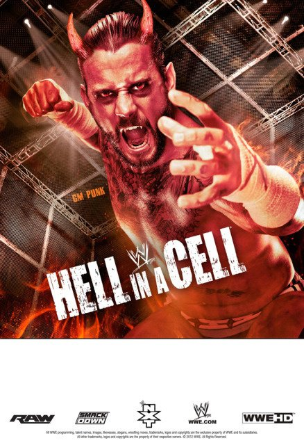 Affiche du prochai Hell in a Cell