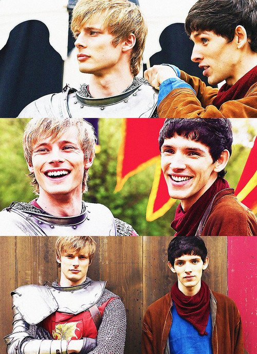 Arthur et Merlin ..Des photos..♥