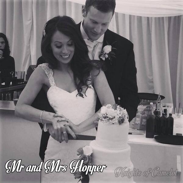 Mariage de Tom Hopper