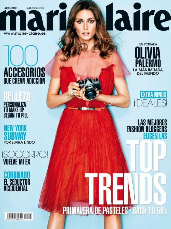 Marie Claire Spain - April 2012