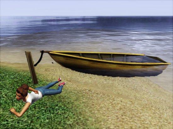 M1 - Une folle vole un canot