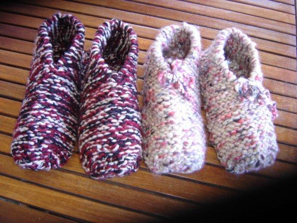 chaussons pour ma petite fille offrir a ses beaux parents
