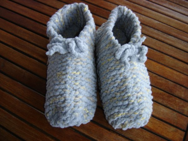 chaussons pour l'infirmiére