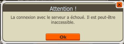 Dofus, impossible de se connecter !!