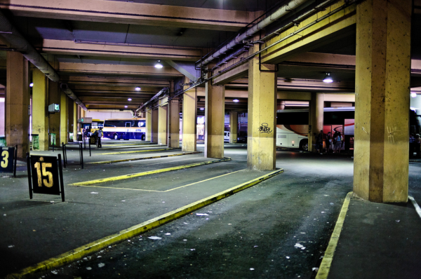 Gare routière d'Avignon