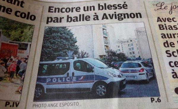 Encore une fusillade à Avignon