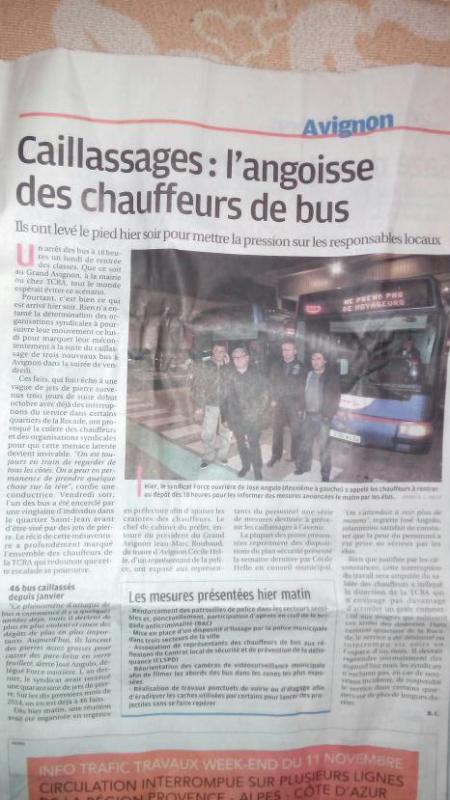 Caillassages : l'angoisse des chauffeurs de bus