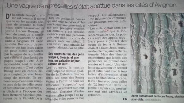 Avignon, représailles !!!