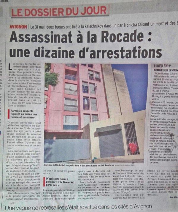 Avignon, La Rocade Meurtre
