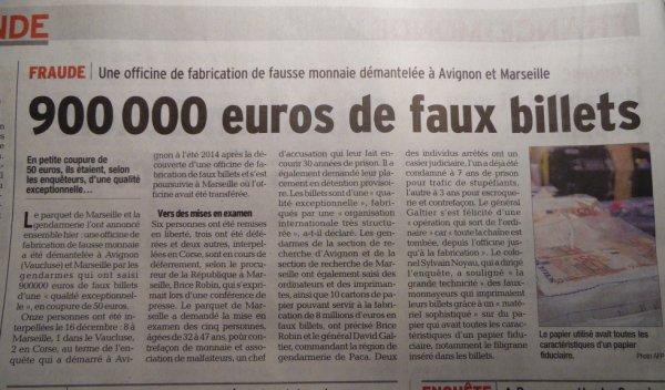Trafic de billet à Avignon et Marseille