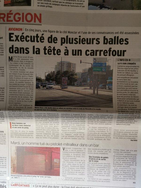 Avignon règlements de comptes