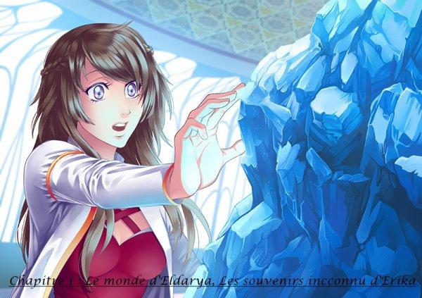 Nos Souvenir : Chapitre 1  Le monde d'Eldarya, les souvenirs inconnu d'Erika