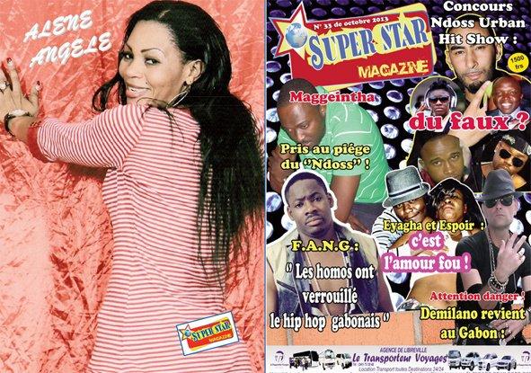 SUPER STAR ,le premier magazine peopol gabonais de nouveau en kiosque !