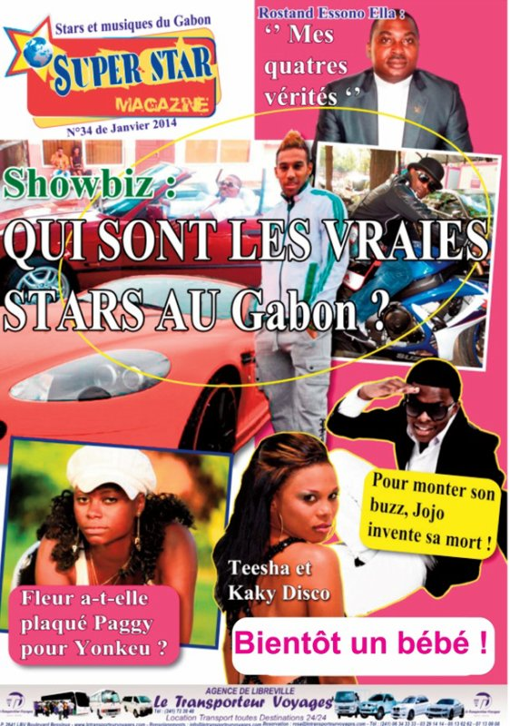 Voici le nouveau numéro de Super Star Magazine