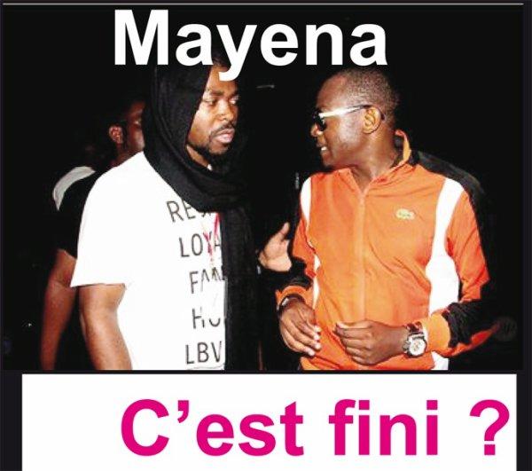 Mayena:  C'est fini !