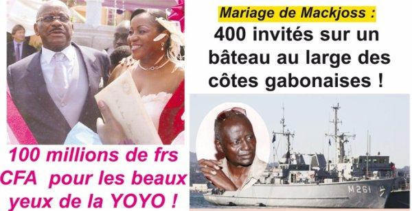 Les 3 mariages les plus fous du Gabon !