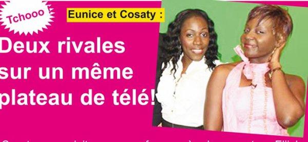 Eunice et Cosaty : Deux rivales sur un même plateau de télé!