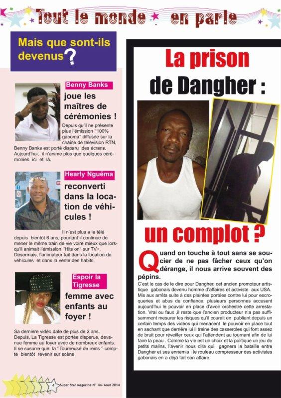 La prison  de Dangher : un complot ?
