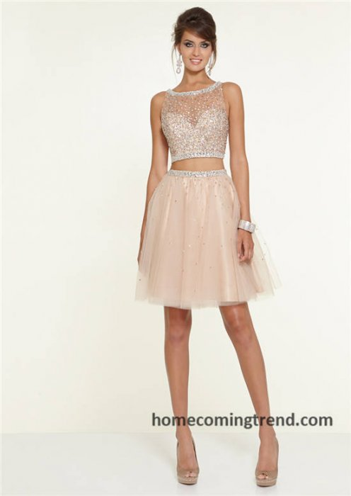 Glittering short sequined prom dresses 2014 for all of you ...