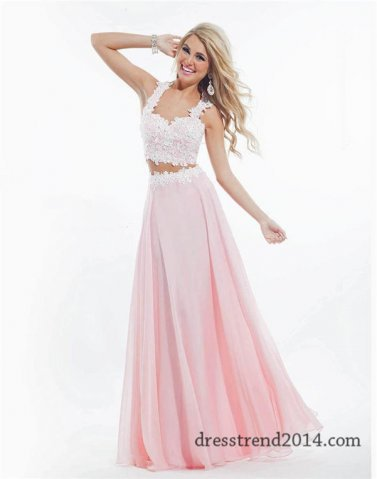 Beautiful Two Piece Prom Dresses